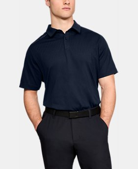 Men's UA Threadborne Outer Glow Polo  1  Color Available $51 to $63.75