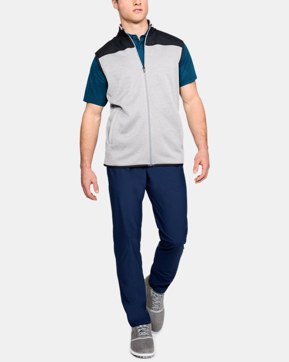 Men's UA Threadborne Limitless Polo, Blue, pdpMainDesktop image number 7