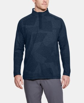 New Arrival Men's UA Threadborne ¼ Zip  1 Color $90