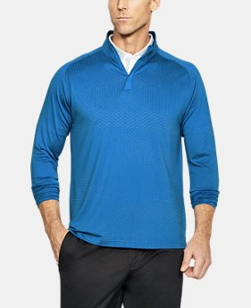 Men's UA Threadborne ¼ Zip  1 Color $90