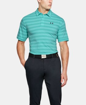 Men's Charged Cotton® Scramble Stripe Polo  2 Colors $50