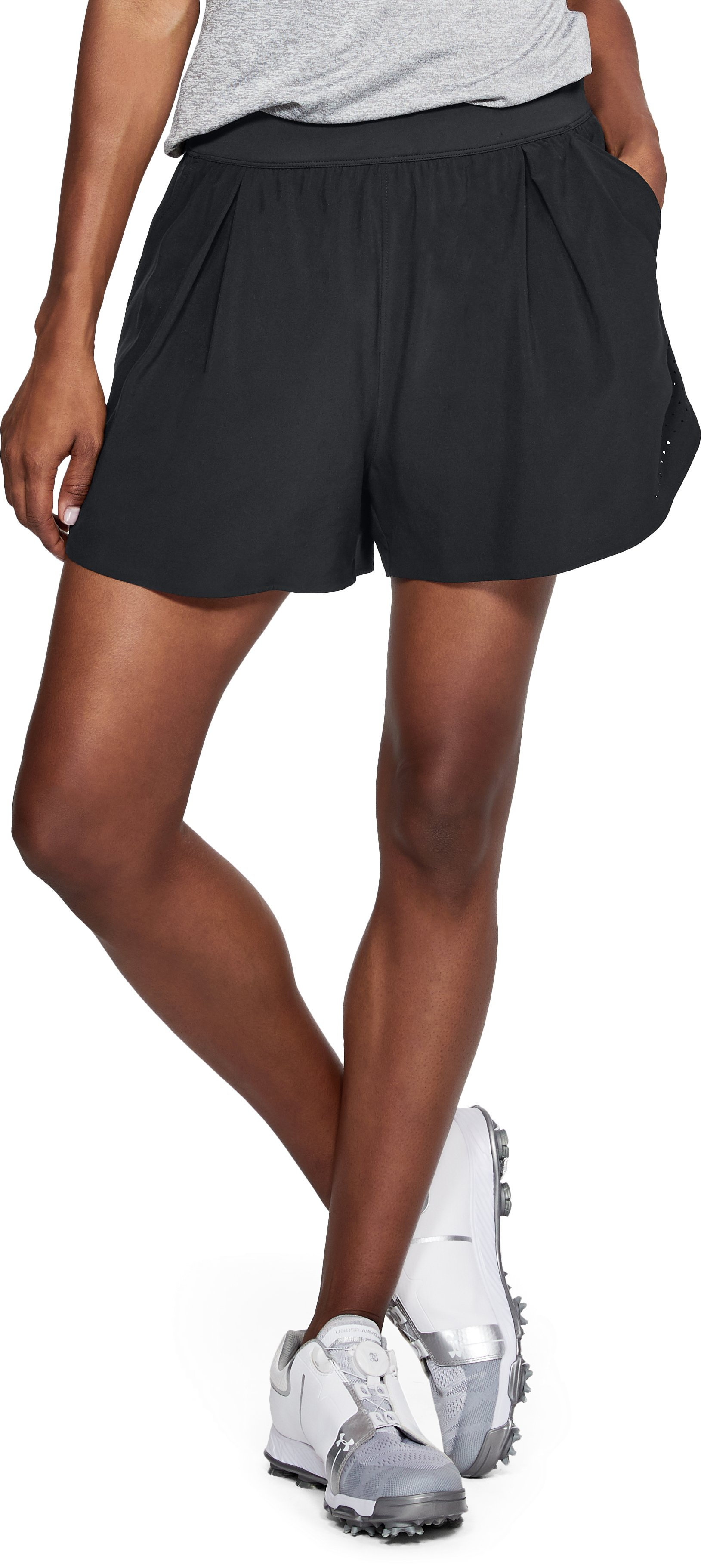 Women's UA Perpetual Shorts, Black