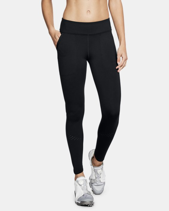 Legging UA Perpetual pour femme, Black, pdpMainDesktop image number 0