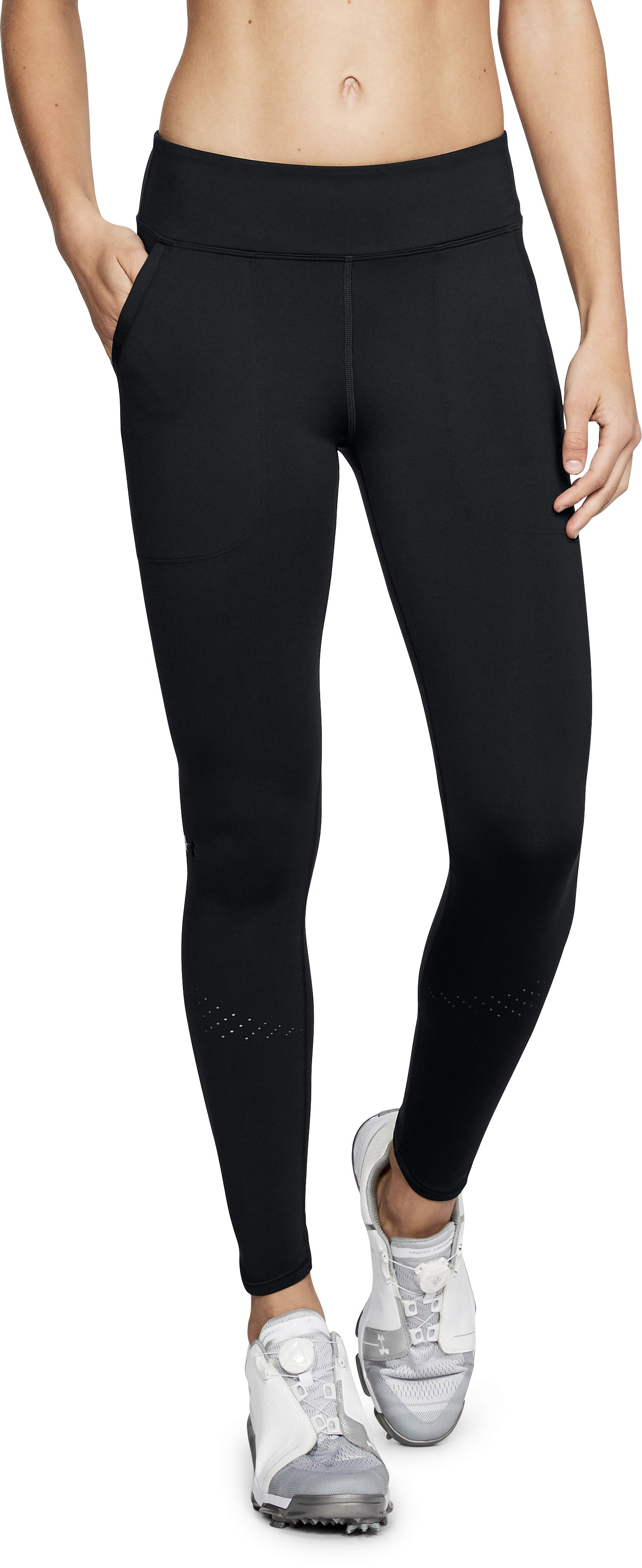 Women's UA Perpetual Leggings, Black ,
