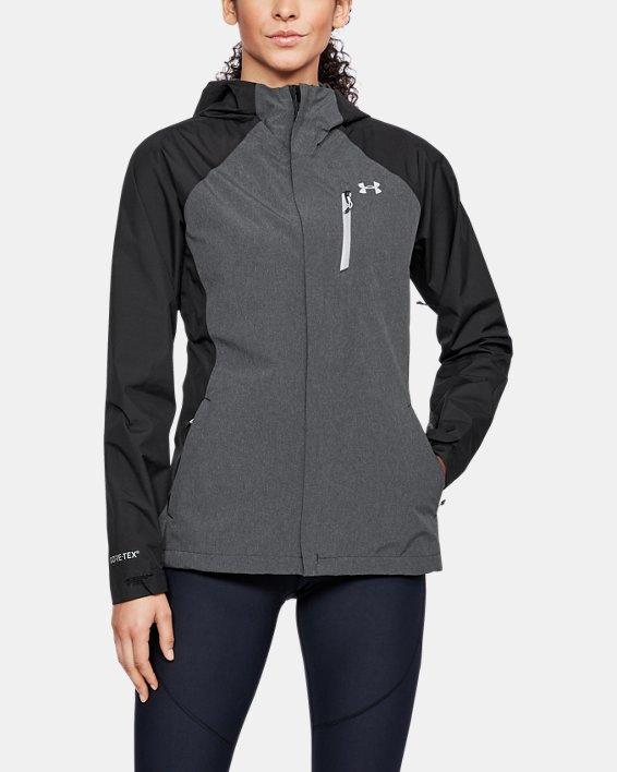 Women's UA Roam GORE-TEX® PacLite Jacket, Black, pdpMainDesktop image number 1