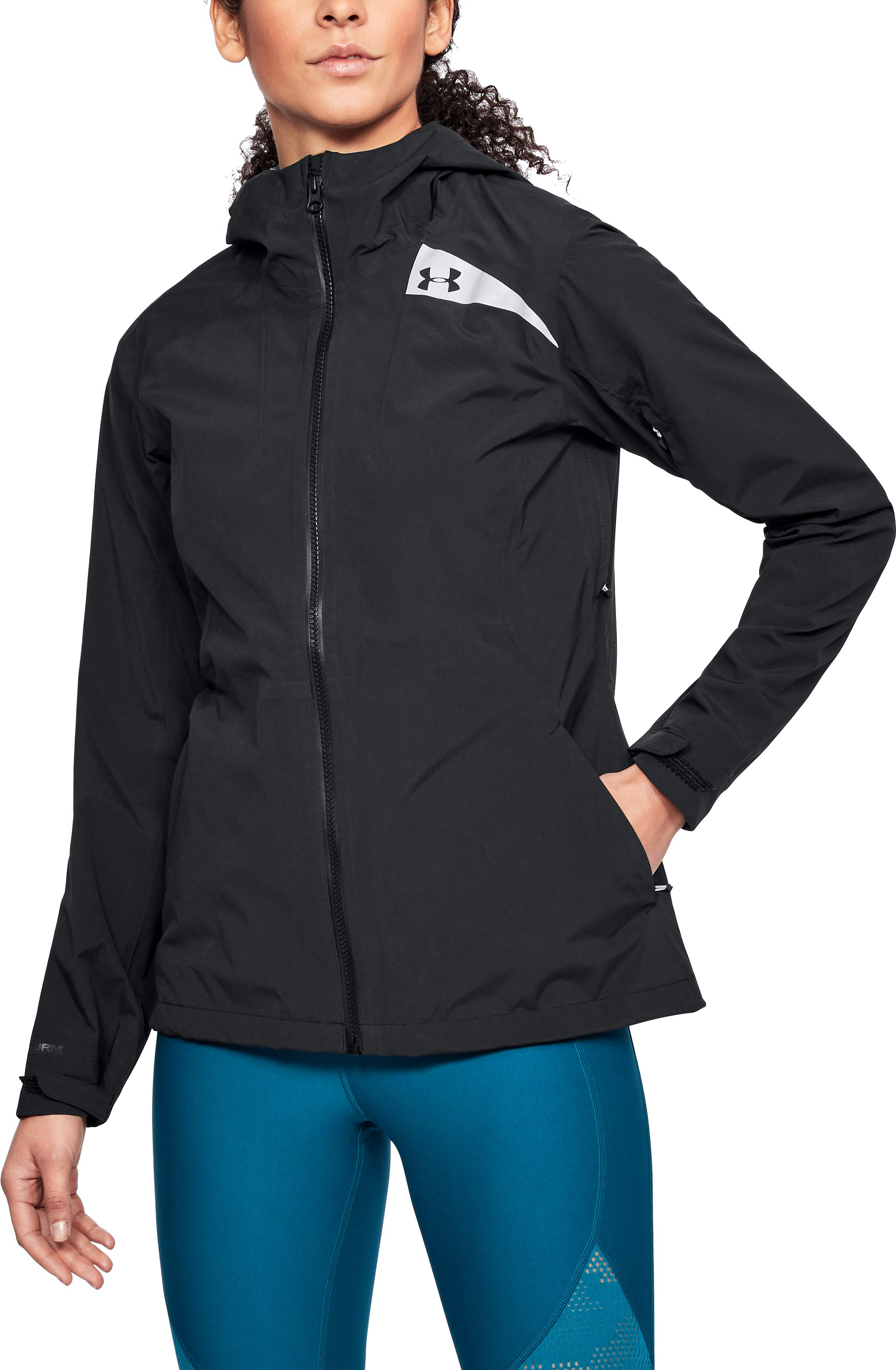 Women's UA Trektic Jacket, Black