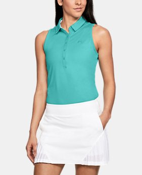 d368c2645c8e25 Women s UA Zinger Sleeveless Polo 2 Colors Available  27.99 to  42.99