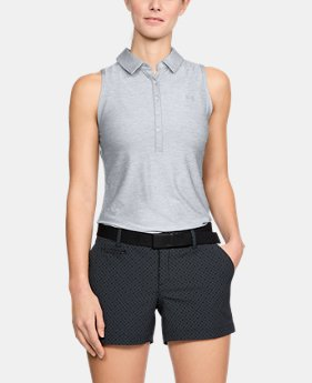 Women's UA Zinger Sleeveless Polo  1  Color $55
