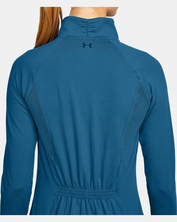 Women's UA Zinger Full Zip, Blue, pdpMainDesktop image number 5