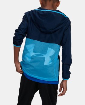 Boys' UA Sackpack Jacket LIMITED TIME: FREE SHIPPING 4  Colors Available $75