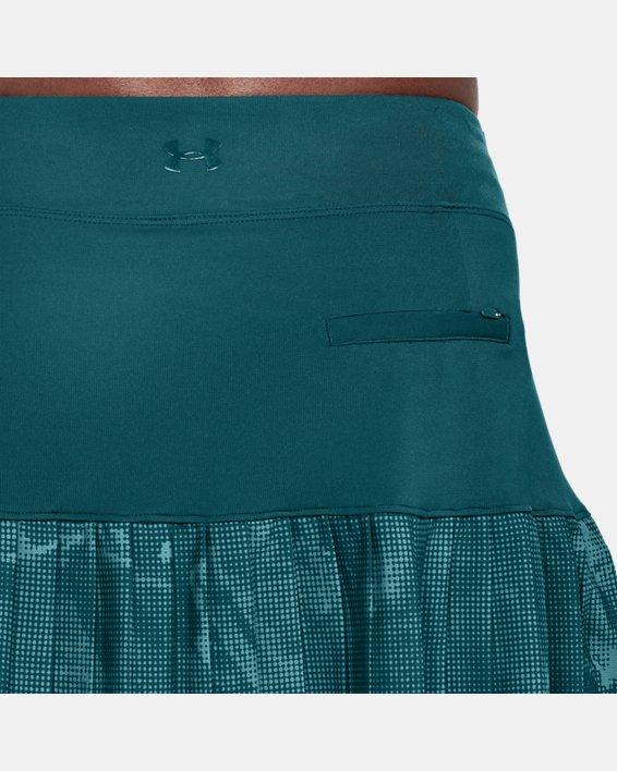 Women's UA Links Knit Skort, Green, pdpMainDesktop image number 5