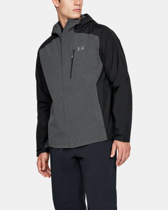 Men's UA Roam Paclite Jacket, Black, pdpMainDesktop image number 0