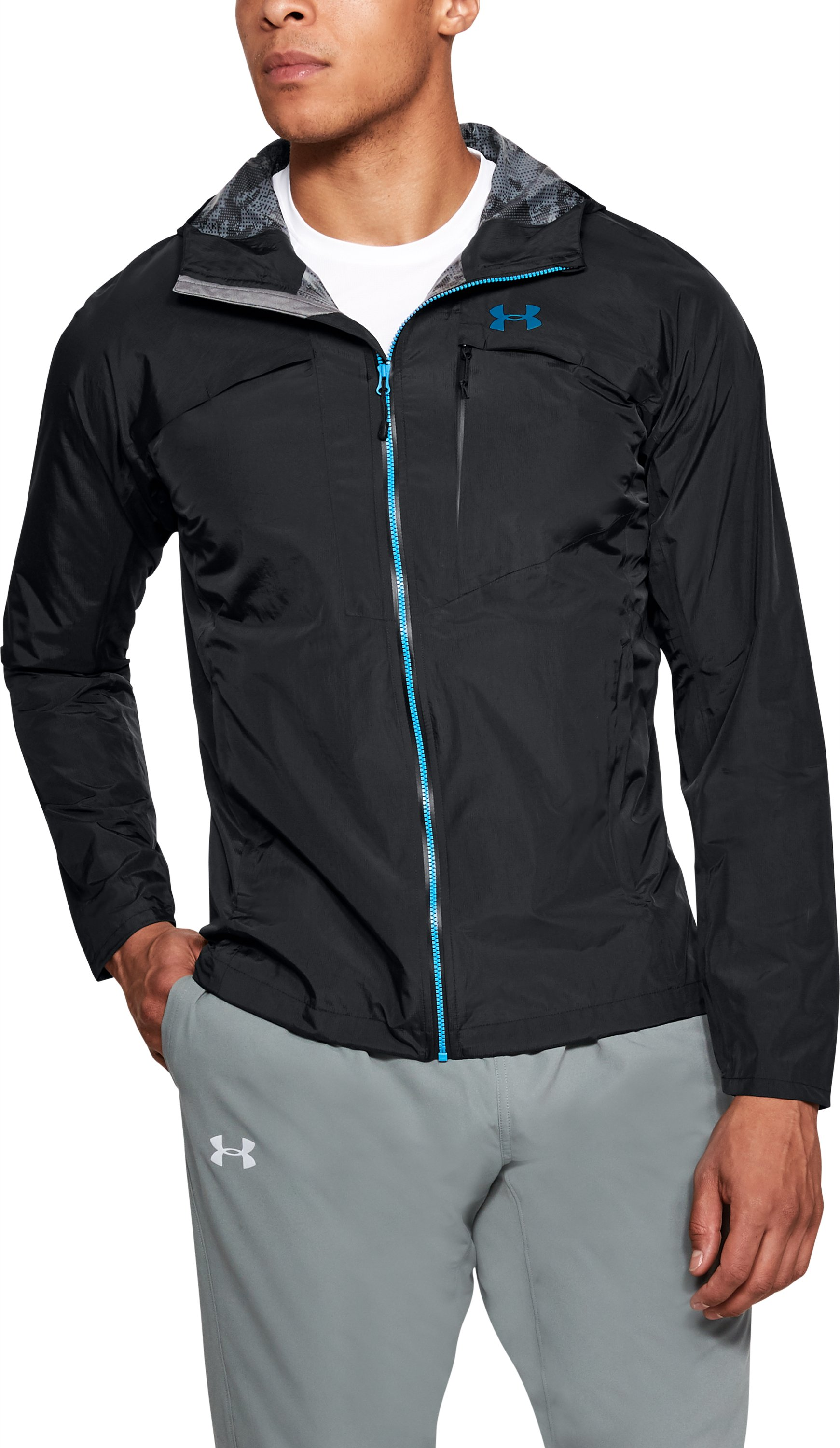 Men's UA Scrambler Jacket, Black