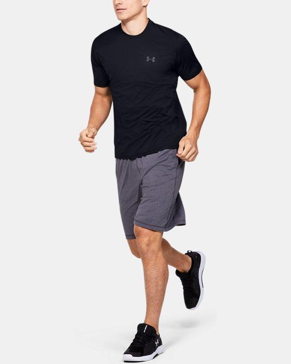 Men's UA Sunblock Short Sleeve, Black, pdpMainDesktop image number 1