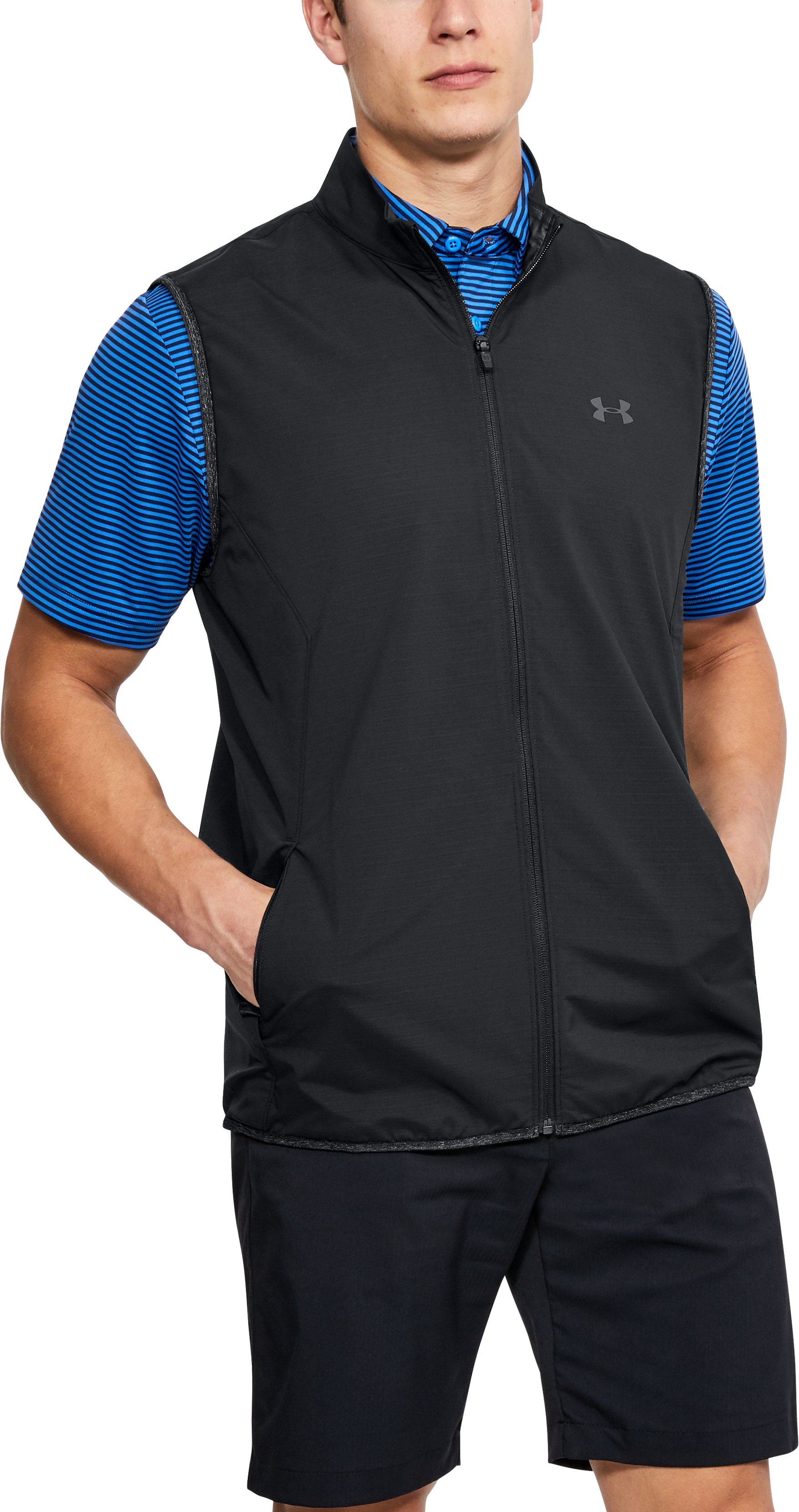 Men's UA WindStrike Vest, Black