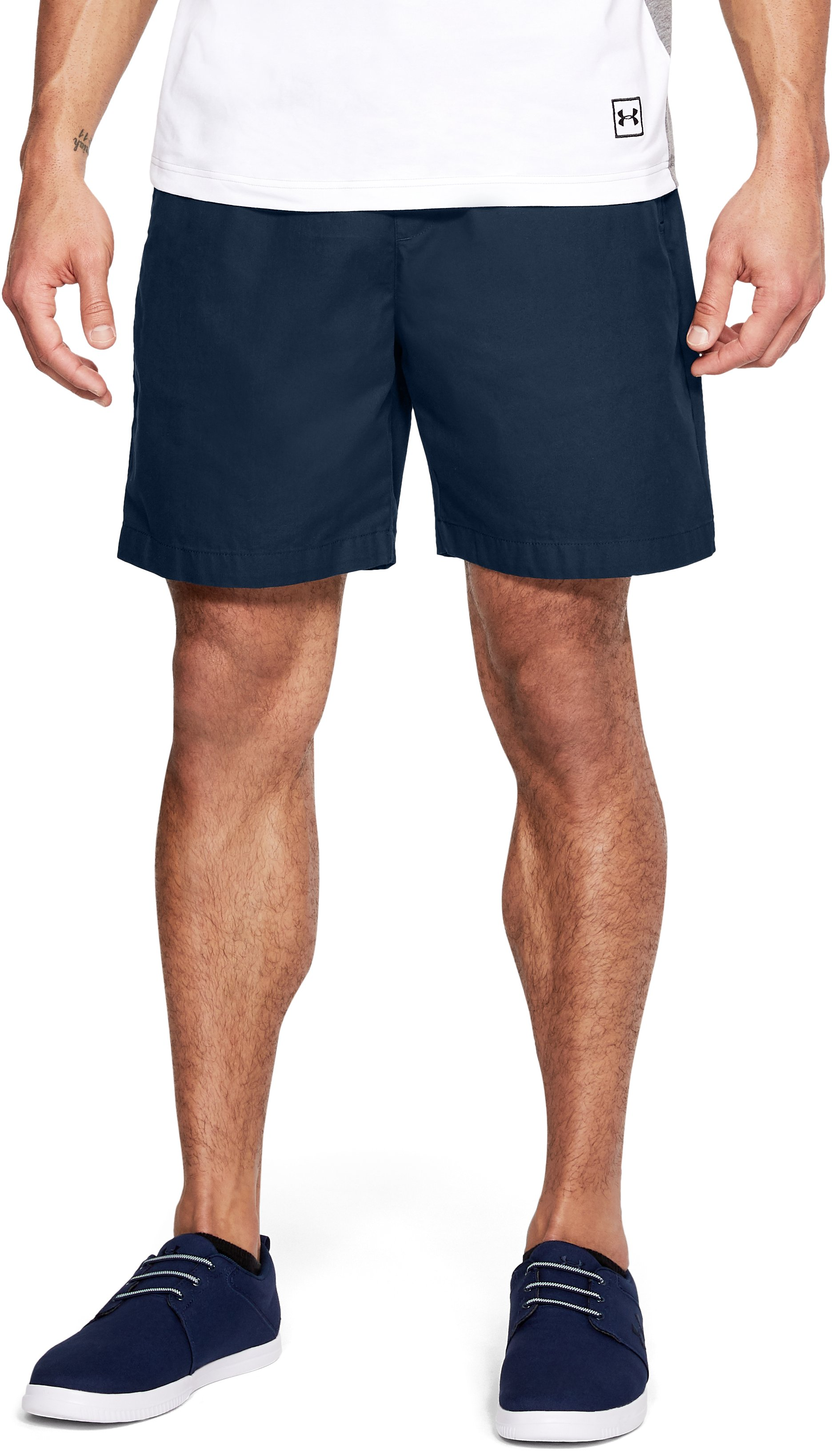 Men's UA Performance Chino Shorts, Academy