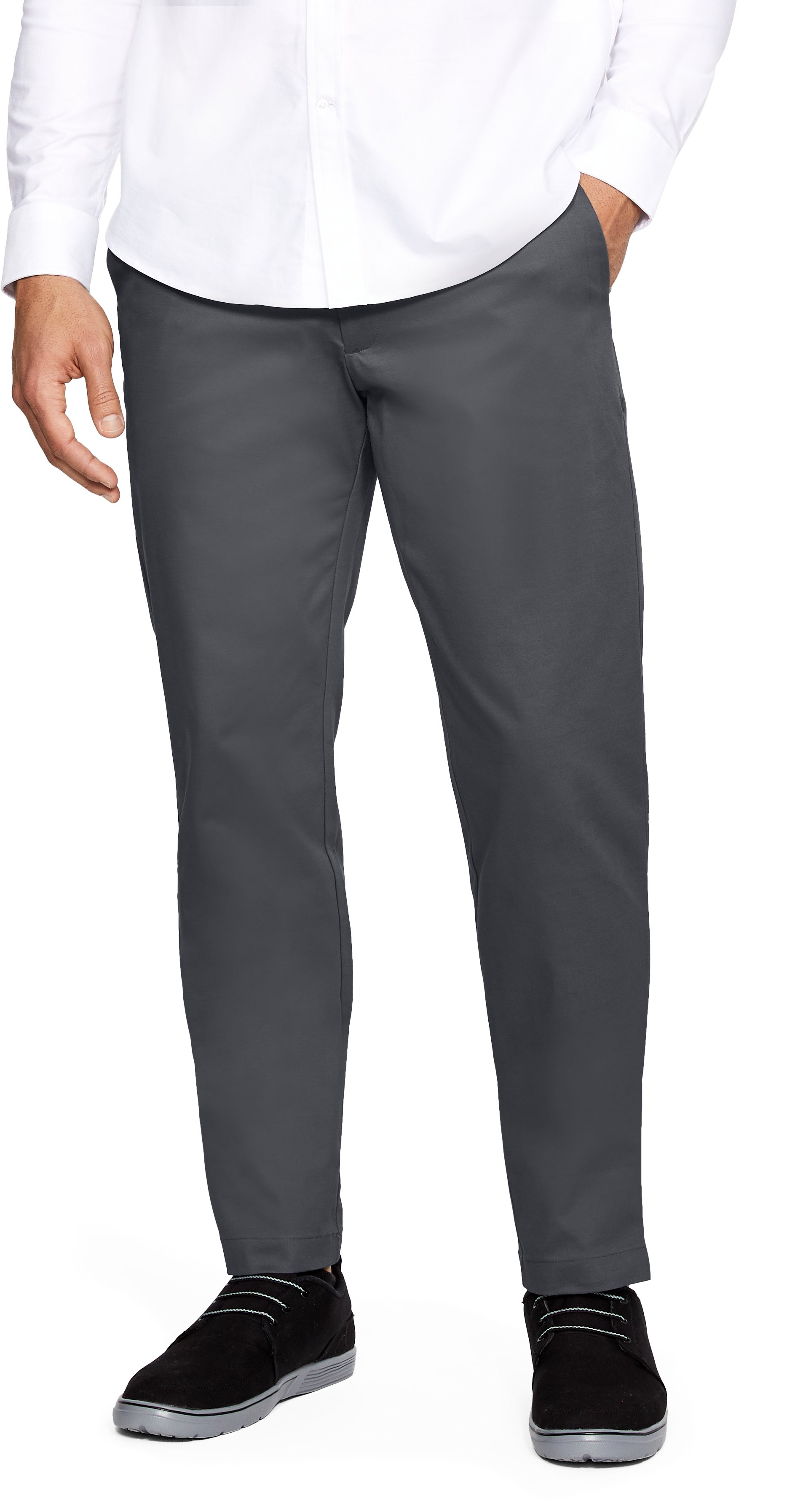 Men's UA Showdown Chino Pants, RHINO GRAY