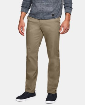 Men's UA Showdown Chino Pants LIMITED TIME: FREE SHIPPING 4 Colors $100