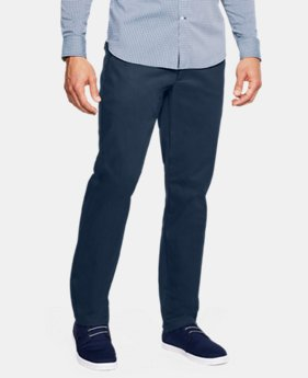 Men's UA Showdown Chino Pants  6  Colors Available $85