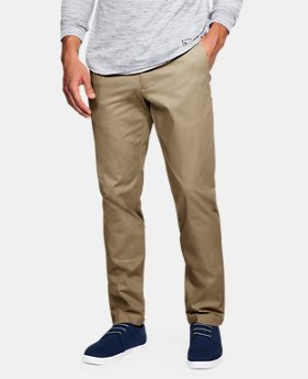 New Arrival Men's UA Showdown Chino Tapered Pants  2 Colors $85