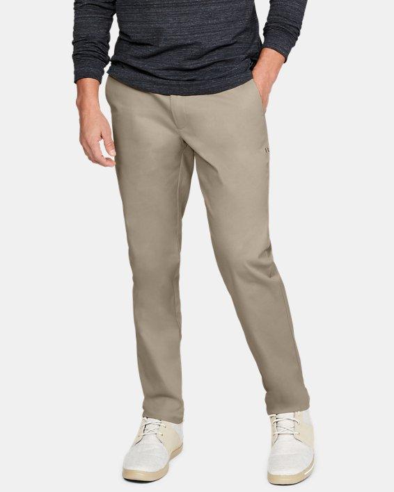 언더아머 골프 바지 Under Armour Mens UA Showdown Chino Tapered Pants,City Khaki / City Khaki - 299