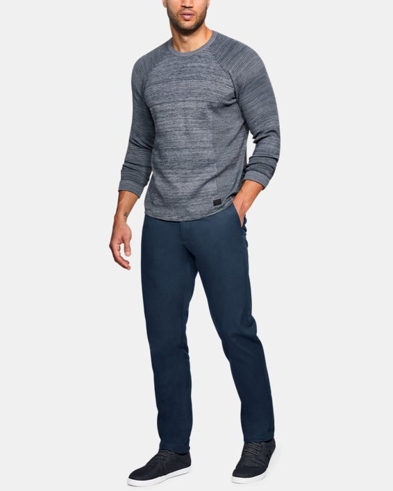 Men's UA Showdown Chino Tapered Pants, Navy, pdpMainDesktop image number 1