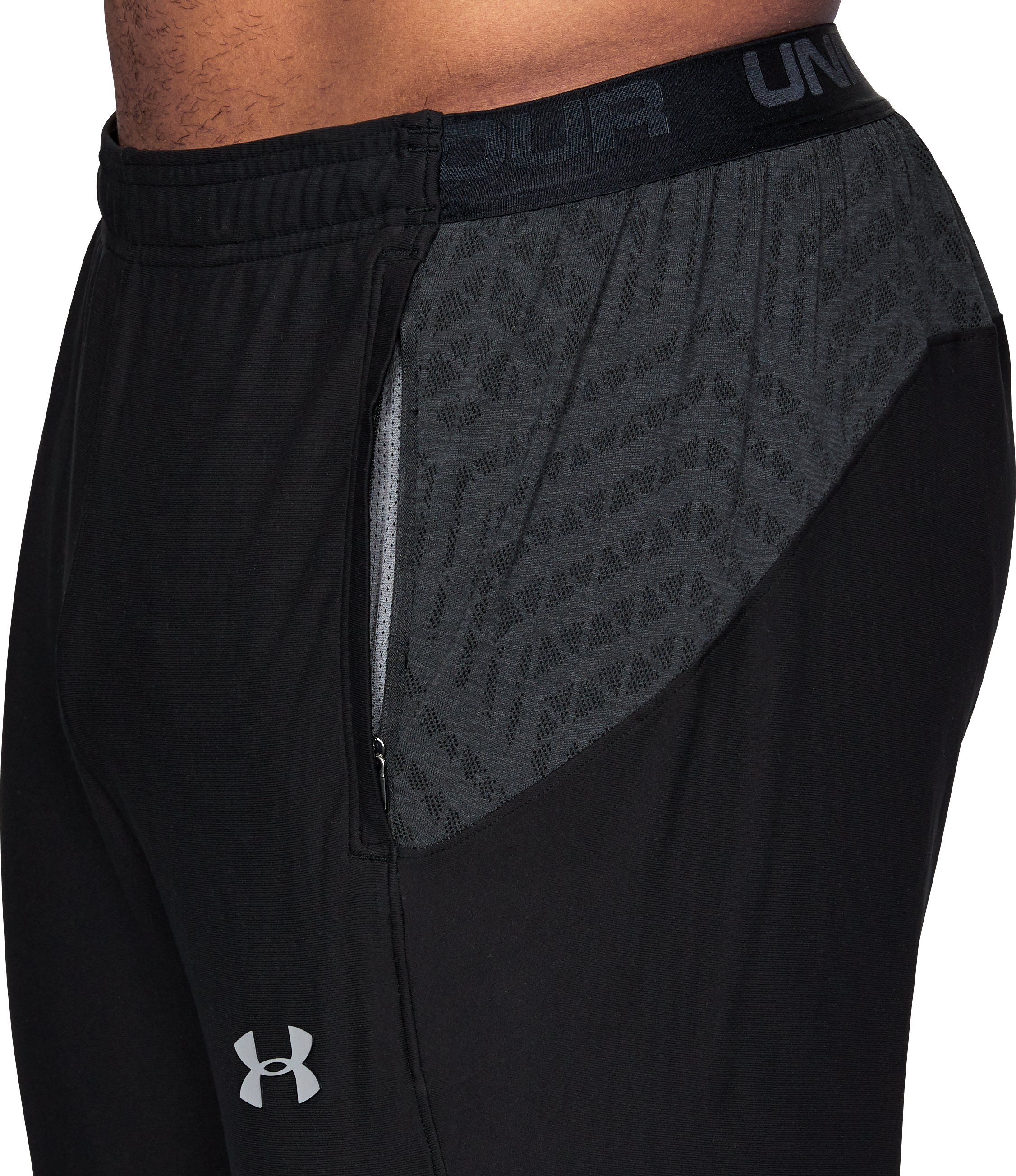 Men's UA Accelerate Training Pants, Black ,