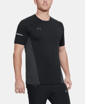 Men's UA Accelerate Training Short Sleeve  1  Color Available $60
