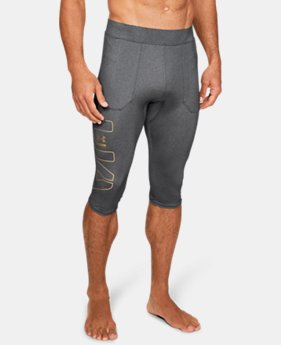 New Arrival Men's UA Perpetual ½ Leggings  1  Color $80