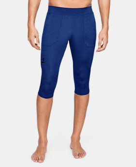 Men's UA Perpetual ½ Leggings  1  Color Available $60