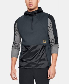 New Arrival Men's UA Perpetual Reactor Sleeveless Hoodie   $100