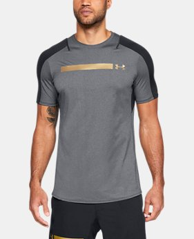 New Arrival Men's UA Perpetual Fitted Short Sleeve  1 Color $70