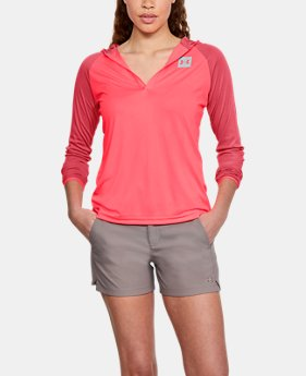 Women's UA Fish Hunter Tech Popover  2  Colors Available $33.75