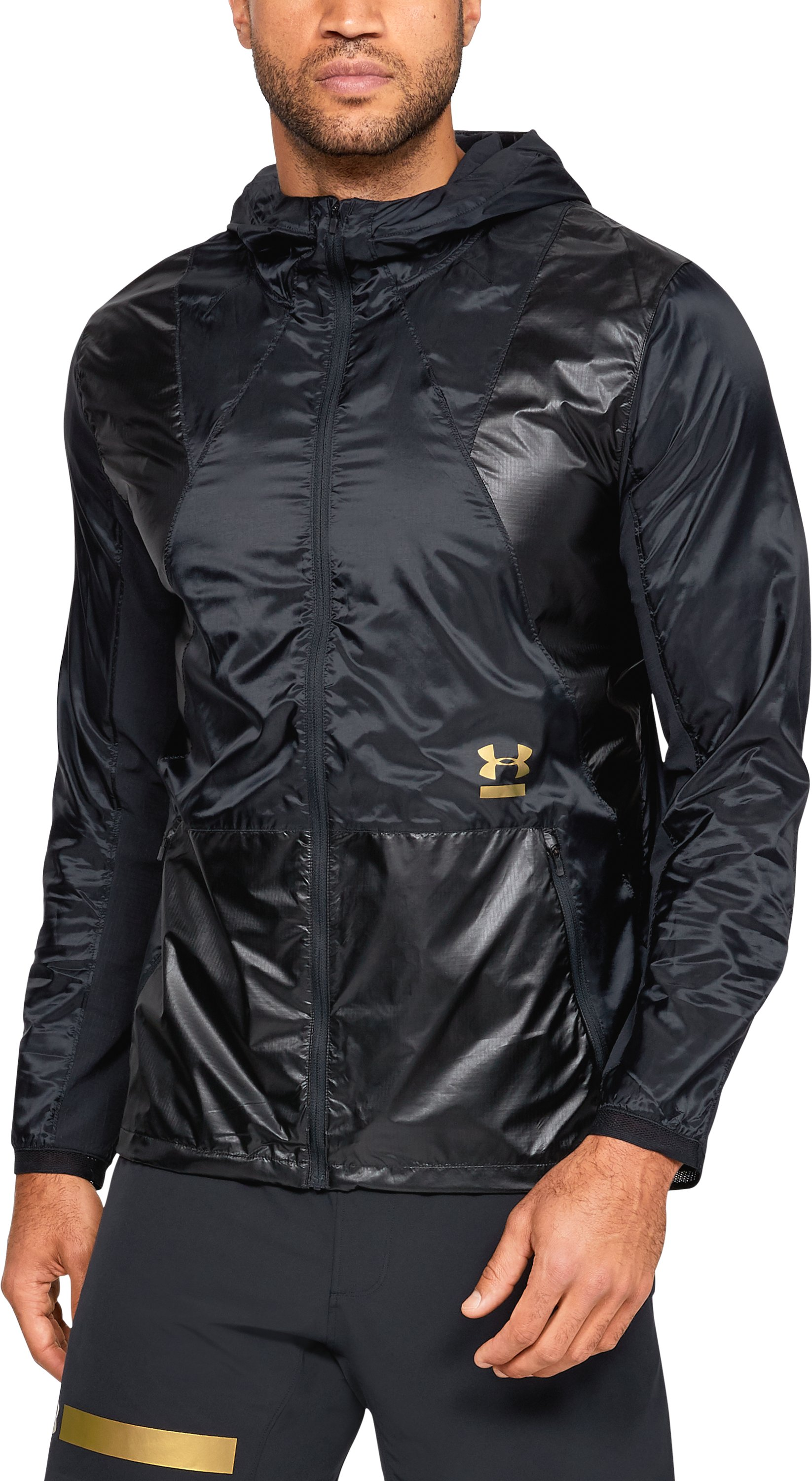 Men's UA Perpetual Full Zip Jacket, Black