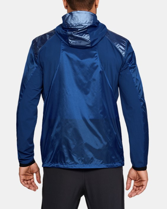 Men's UA Perpetual Full Zip Jacket, Blue, pdpMainDesktop image number 2
