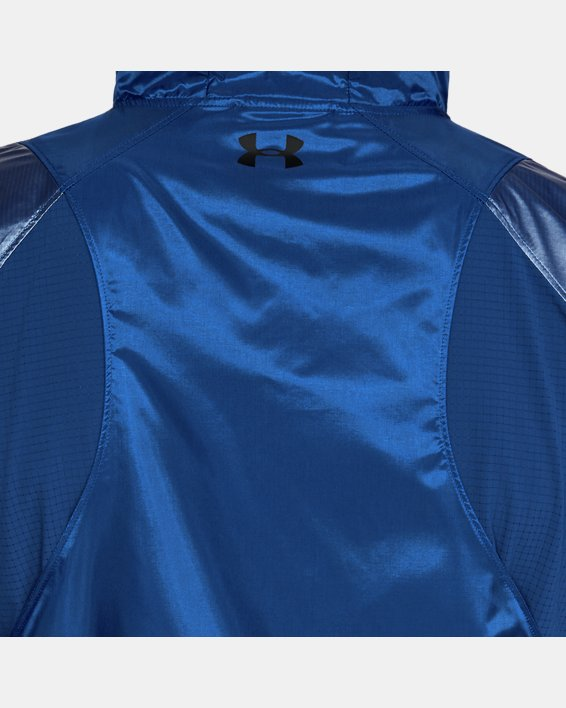 Men's UA Perpetual Full Zip Jacket, Blue, pdpMainDesktop image number 6