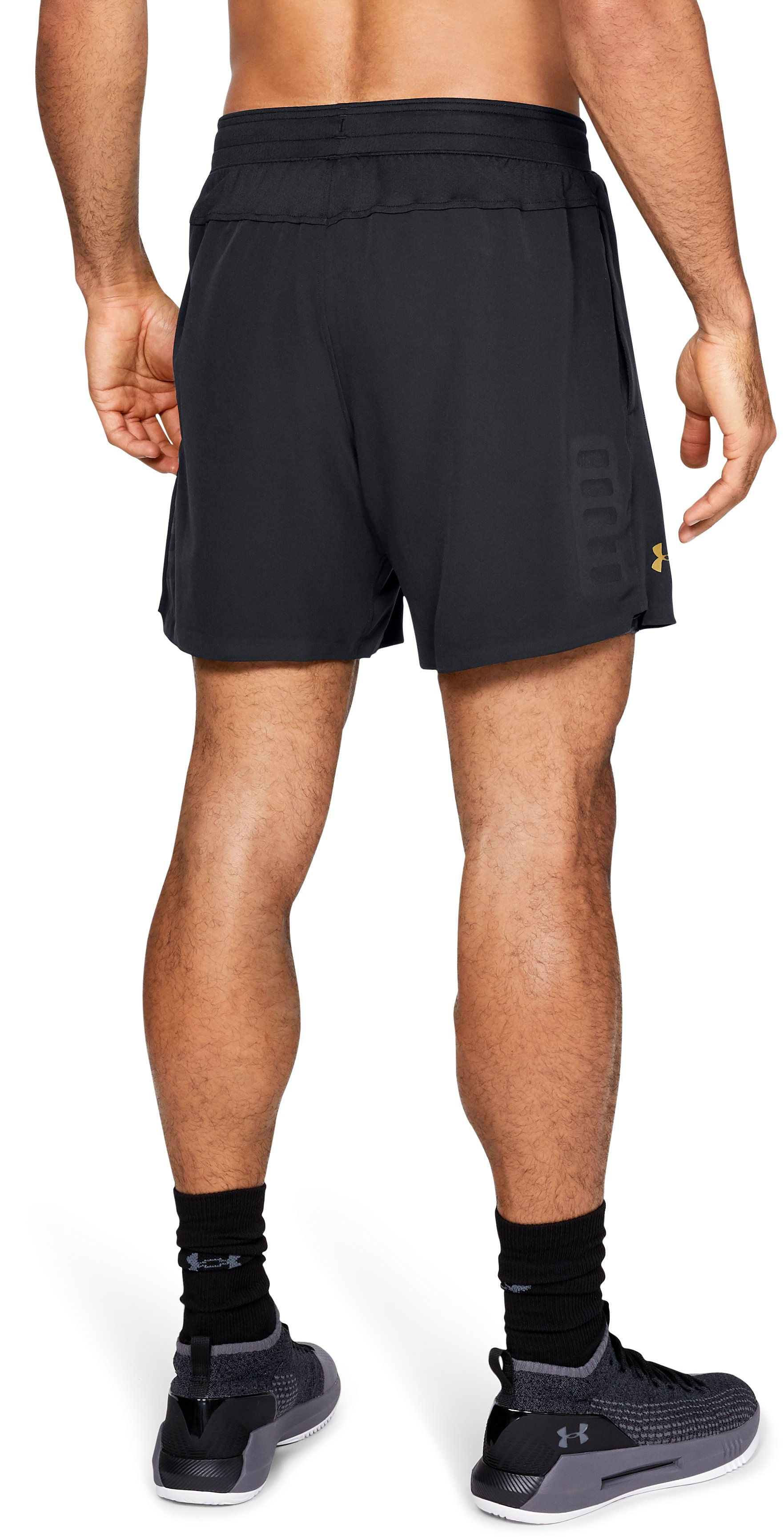 Men's UA Perpetual Shorts, Black , undefined