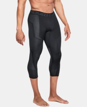 New Arrival Men's UA Threadborne Seamless ¾ Leggings  2 Colors $60
