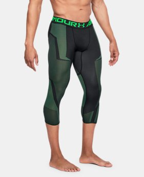 Men's UA Seamless ¾ Leggings  3  Colors Available $52.5