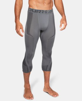 Men's UA Seamless ¾ Leggings  6  Colors Available $60
