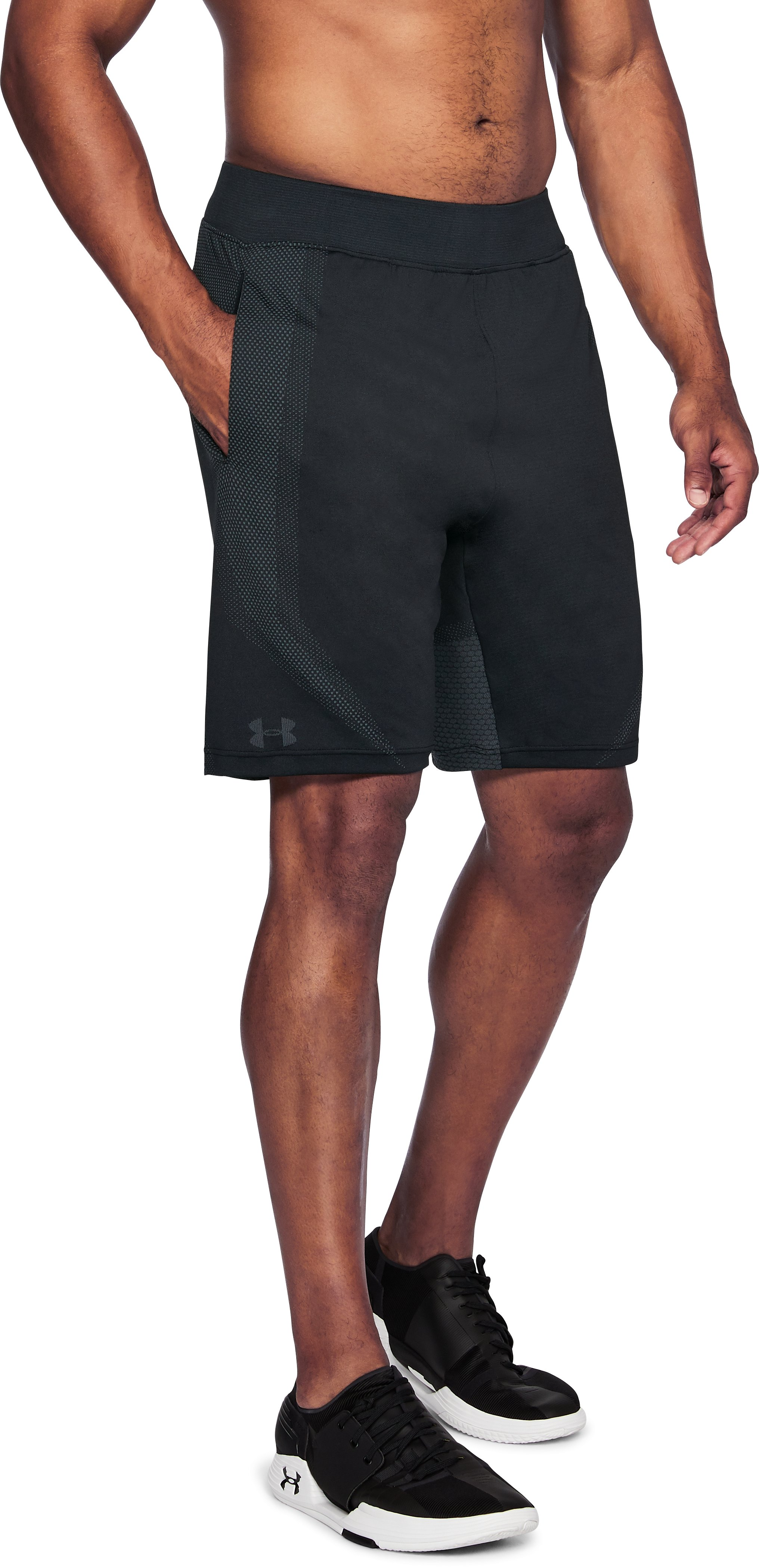 Men's UA Seamless Shorts, Black