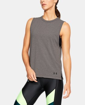 Women's UA Tri-Blend Muscle Tank  1  Color Available $29.99