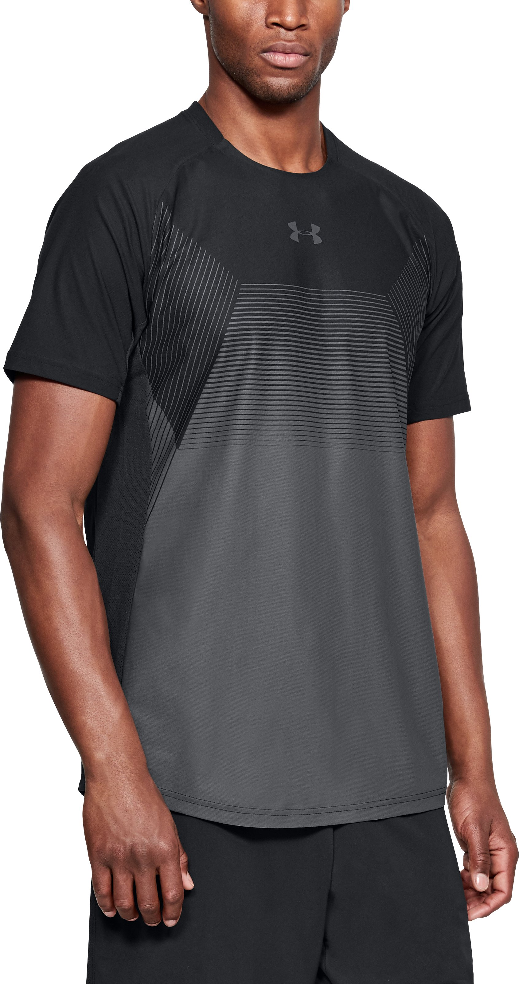 Men's UA Vanish Short Sleeve, Black