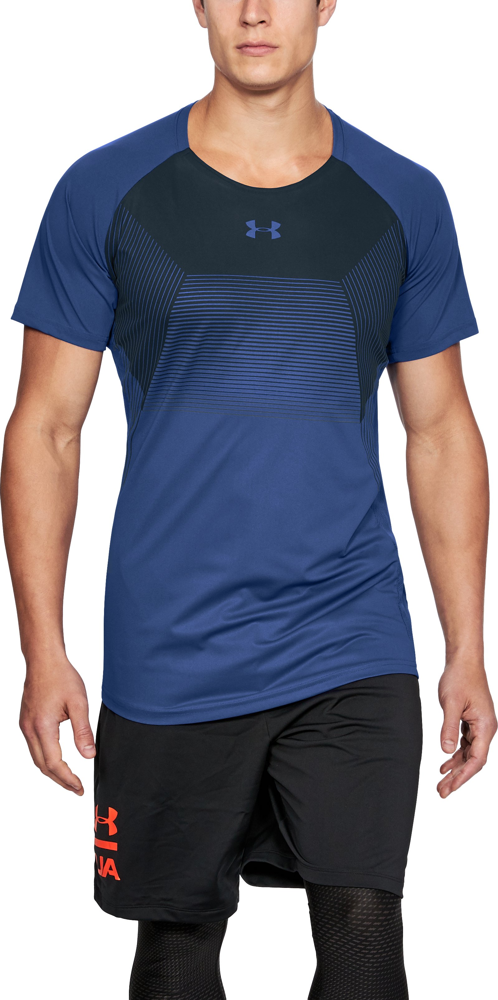 Men's UA Vanish Short Sleeve, JUPITER BLUE