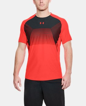 Men's UA Vanish Short Sleeve  1  Color Available $41.25