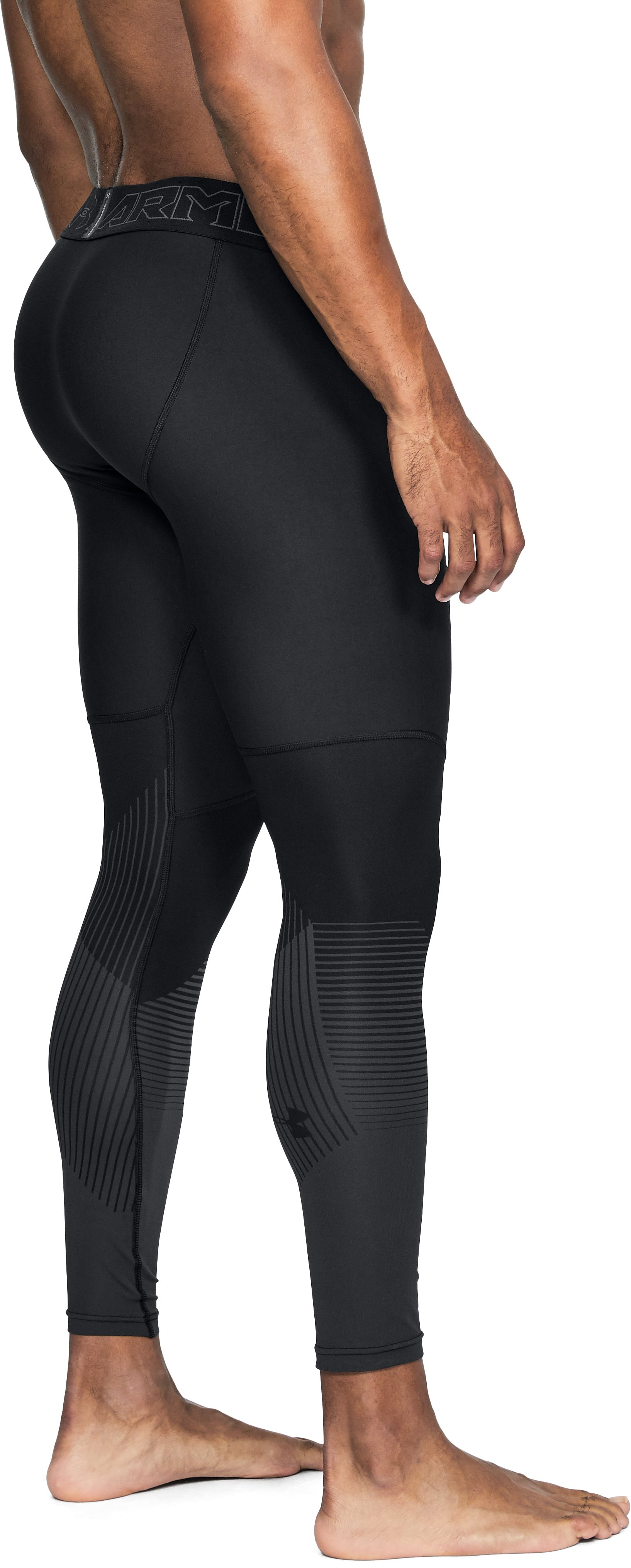 Men's UA Vanish Leggings, Black ,