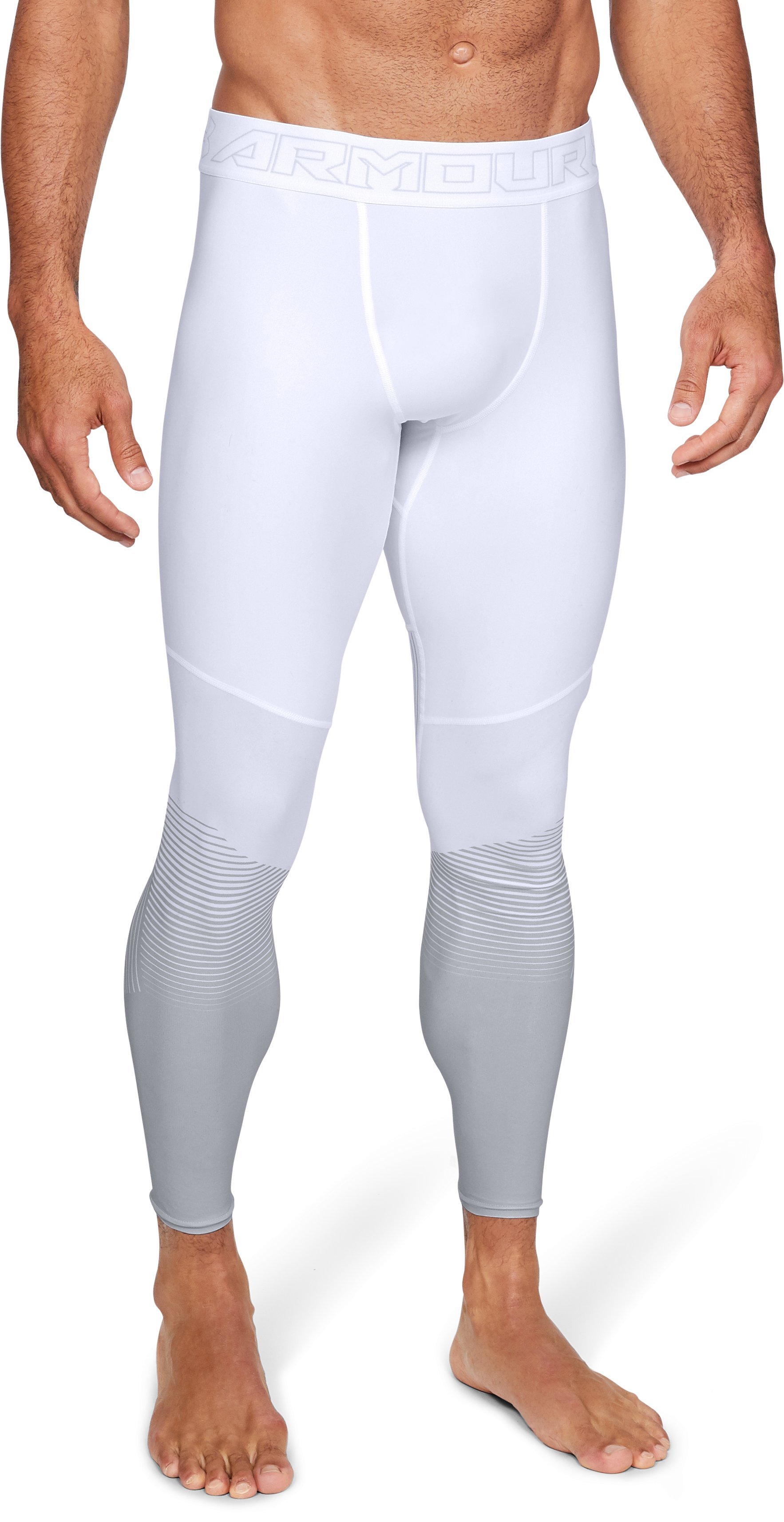 Men's UA Vanish Leggings, White
