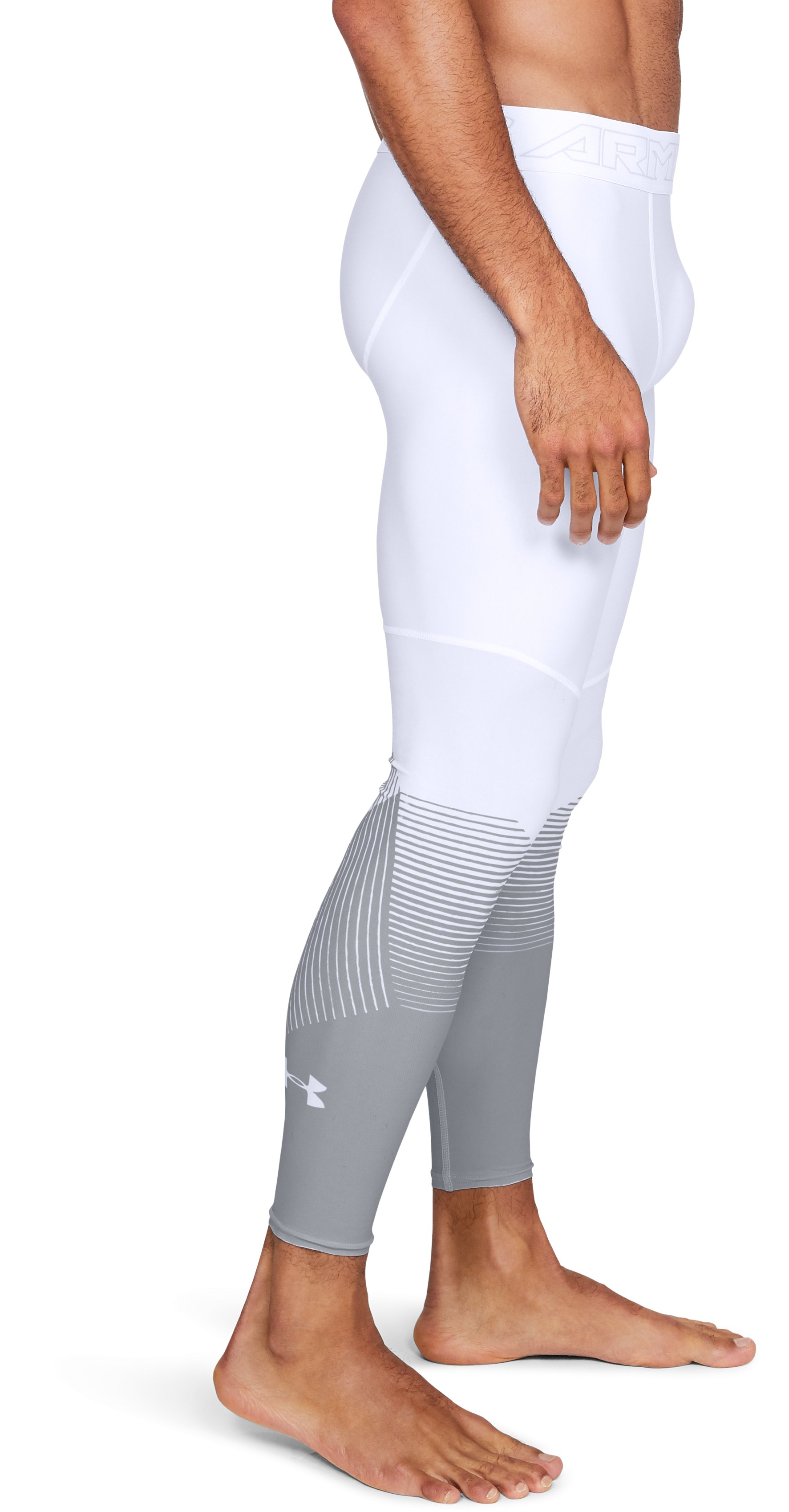 Men's UA Vanish Leggings, White,