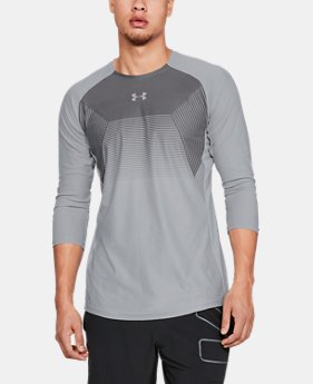 Men's UA Vanish ¾ Sleeve  1  Color Available $37.5