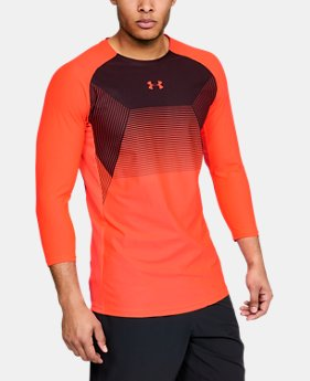 New to Outlet Men's UA Vanish ¾ Sleeve  1  Color Available $30 to $37.99